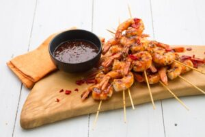 byron bay chilli co prawns recipe