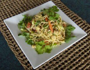 coconut pasta salad recipe
