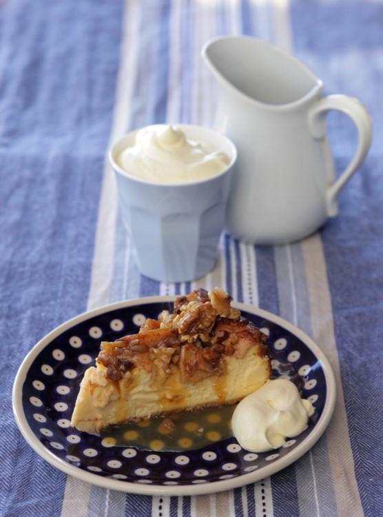apple cinnamon cheesecake recipe