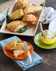 spicy jalapeno scones