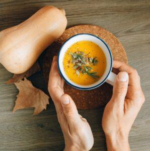 spicy pumpkin soup recipe